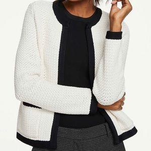 Ann Taylor Knit Cardigan Sweater Jacket